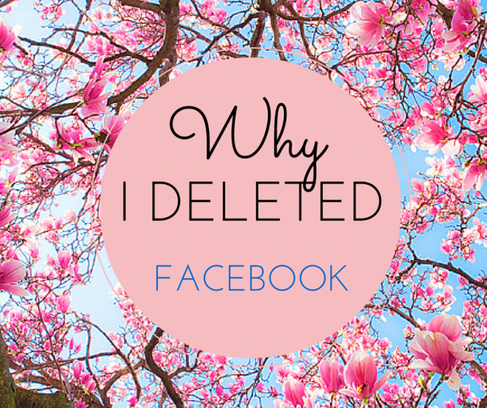 Why I deleted Facebook