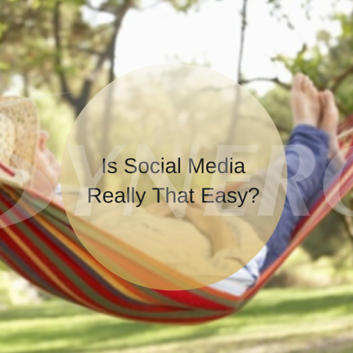 Is Social Media Really That Easy?