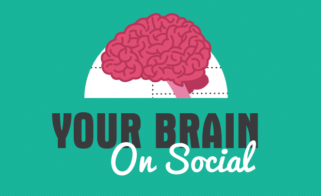 The effect social media has on our brain – INFOGRAPHIC